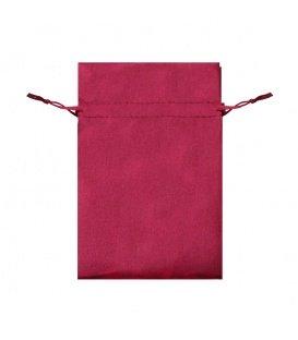 Rode kleine sieradenzakjes van Satijn (5 stuks)