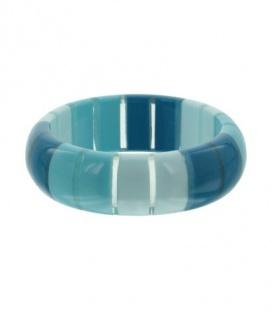 Blauw gestreepte armbanden