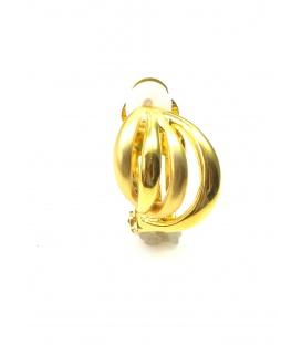 Goudkleurige metalen open oorclips