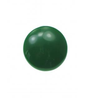 Groene ronde kunststof oorclips
