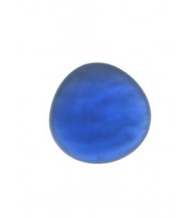 Mooie cobalt blauwe parelmoer oorclips van Culture mix