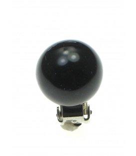 Zwarte clipoorbellen (1,4 cm)