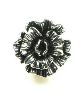 Oorclips in bloemvorm