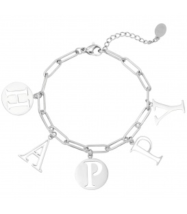 Armband Letters Happy