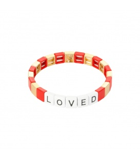 Armband Colourful Loved