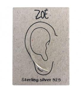 Zilveren (925) oorbellen (earline)