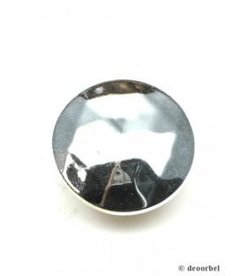 Zilverkleurige ronde oorclips