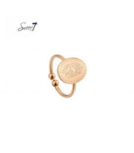 Ring met gegraveerde panter