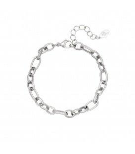 Zilverkleurige basic armband