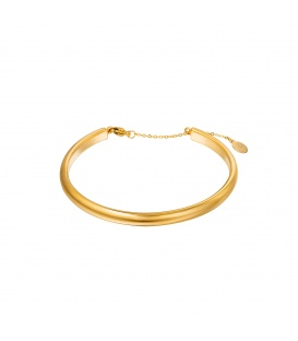 Goudkleurige basic bangle armband
