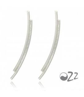Zilveren (925) earline