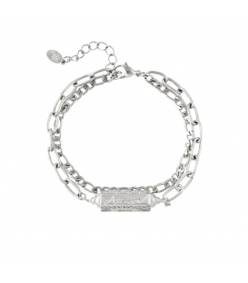 Armband Hanger Amour Zilver