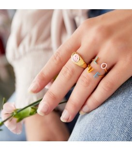 RVS ring Love