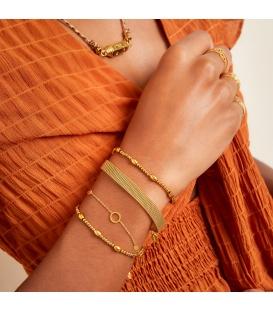 Goudkleurige simpele armband