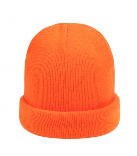 Mooie oranje wintermuts (beanie)