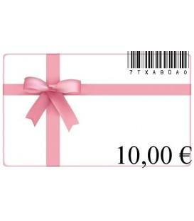 Cadeaubon van 10 euro