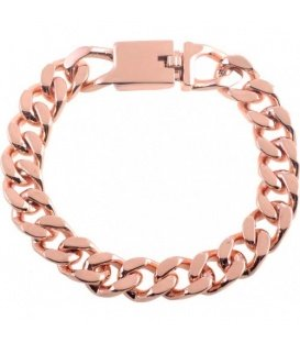 Rose gold kleurige metalen armband